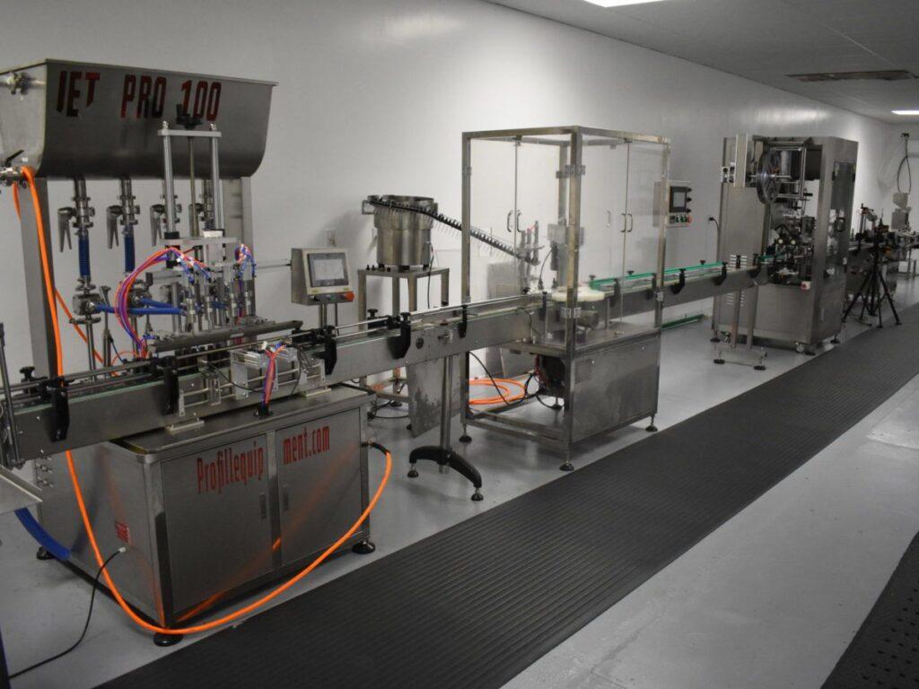 Tincture Manufacturing Line