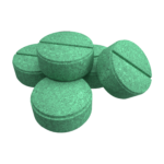 Private Label Green tablets